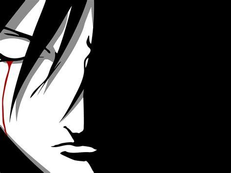 Anime Vector Wallpaper - uchiha sasuke shippuuden anime vectors closed