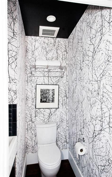 gorgeous wallpaper ideas   modern bathroom