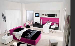 chambre ado fille chambre pinterest chambre ado With decoration chambre ado fille