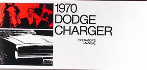 1970 Dodge Charger And Coronet Service Shop Manual Original