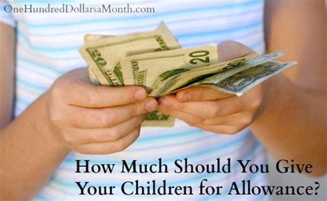 give  children  allowance