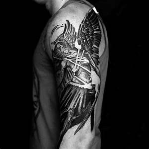 Tatouage Valkyrie Nordique : 60 valkyrie tattoo designs for men norse mythology ink ideas ~ Melissatoandfro.com Idées de Décoration