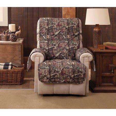 Recliner Chair Walmart by Mossy Oak Up Infinity Recliner Wing Chair Protector