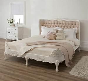 Lit Style Baroque : choisir une t te de lit en tissu avantages et conseils ~ Nature-et-papiers.com Idées de Décoration