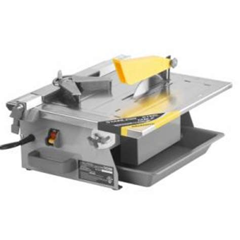 workforce thd550 workforce 7 in wet tile stone saw