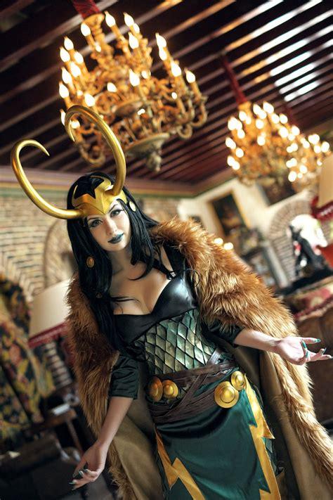 Lady Loki By Souji Yarou On Deviantart
