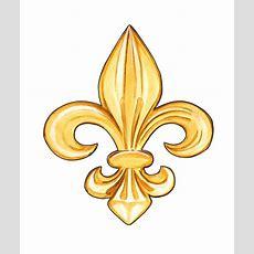 Fleur De Lis Lys French France Monarchy Symbol Emblem