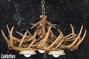 Antler chandeliers whitetail cast chandelier w