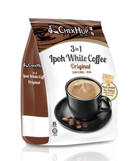 3in1 white chek hup 3 in 1 original white coffee white coffee
