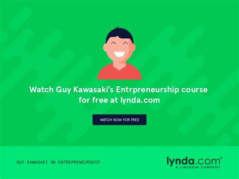 guy kawasaki on entrepreneurshipguy kawasaki