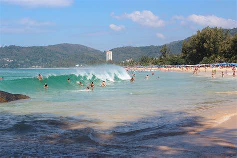 Karon Beach Phuket Thailand Exposed