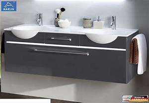 Waschtisch Mit Unterschrank 140 Cm : marlin eclipse doppel waschtisch set 140 cm impuls home ~ Bigdaddyawards.com Haus und Dekorationen