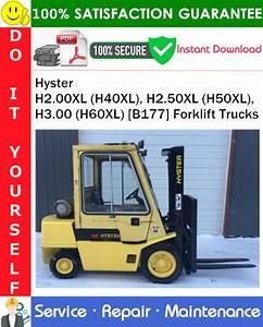 Hyster H2 00xl  H40xl   H2 50xl  H50xl   H3 00  H60xl