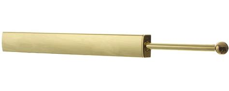 extendable closet rod polished brass in closet valets
