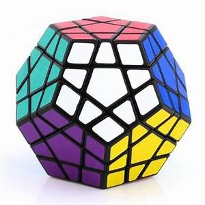ShengShou Megaminx 3x3 Speed Cube - Black-LighTake com