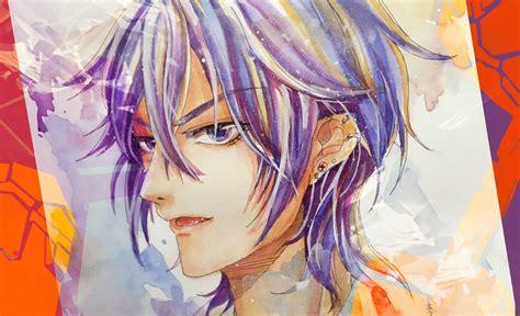 watercolor anime anime boy watercolour speedpaint aoi kureha