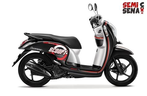 Modifikasi Scoopy 2017 Hitam Putih by Specifications And Price Honda Scoopy Esp