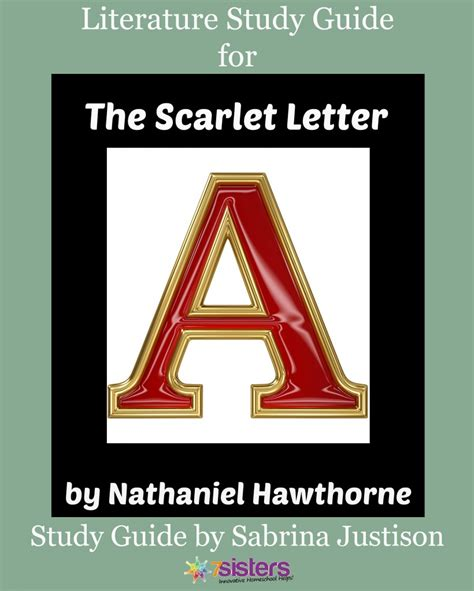 the scarlet letter study guide timeless the scarlet letter study guide 7sistershomeschool 73186