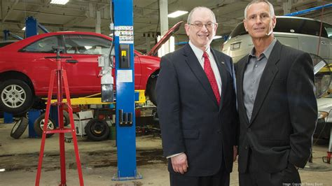 local mechanic donates auto shop   train