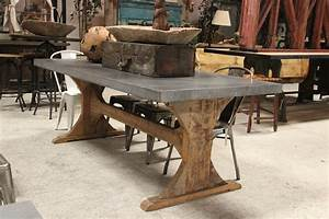 Antique Trestle Dining Room Table Best Gallery Of Tables