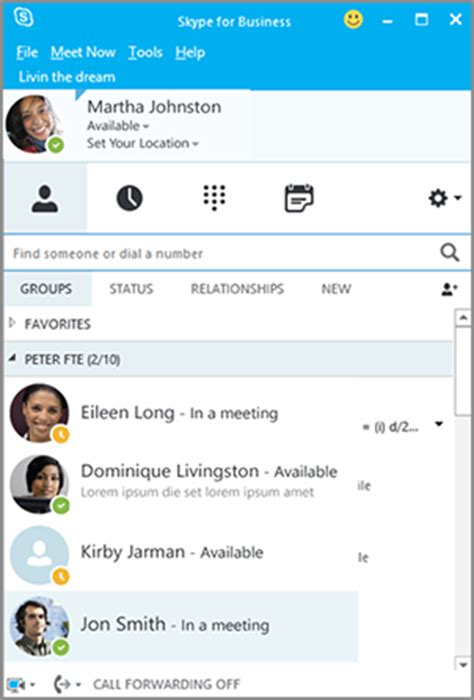 skype de bureau lync devient skype entreprise nouveautés skype for