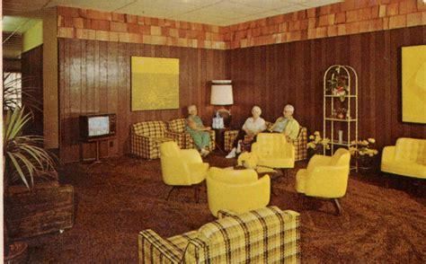 nursing home postcards waiting  god  mid century