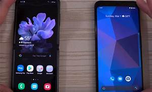 Speed Test Between The Pixel 4 Xl Vs The Galaxy Z Flip