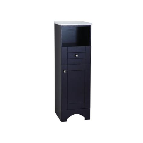 Glacier Bay Bathroom Storage Cabinet by Glacier Bay Mar 14 1 2 In W X 45 In H X 14 3 10 In