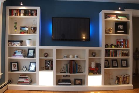 Tv In Bookcase by 15 Best Bookcases With Tv Space
