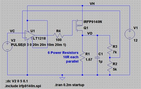 Operational Amplifier Need Help With Opamp Fet