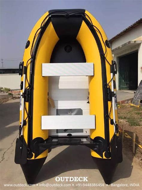 Inflatable Boat Online India by Buy Inflatable Rubber Boat With Oars Pump Free Shipment
