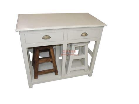 tavolo con sgabelli tavolo consolle con e sgabelli bianco decapato
