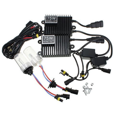 car 75w hid kit ac ballast h1 xenon bulbs l 4300k