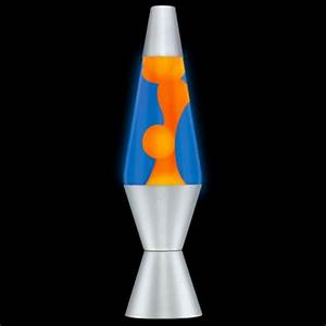 Lava Lite Lava Lamp Orange Blue