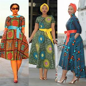 modest print wear, liputa, african print, wax print, midi ...