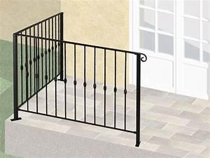 Rambarde Fer Forgé : le ferronnier balcon en fer forg dominique gcdominique ~ Dallasstarsshop.com Idées de Décoration