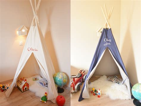 chambre pour bebe fille où trouver un tipi pour la chambre des joli place