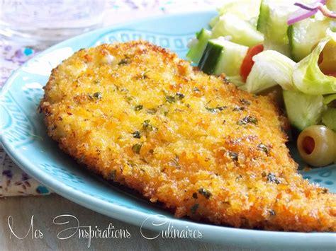 recette escalope milanaise facile le cuisine de samar
