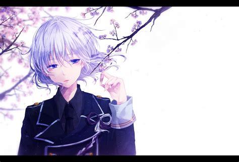 Cute anime boy anime guys black hair anime guy neko red hair boy purple hair manga anime kawaii hairstyles male cosplay. Flowers, Anime, Sakura, Art, Guy, Mokoppe, Touken Ranbu ...