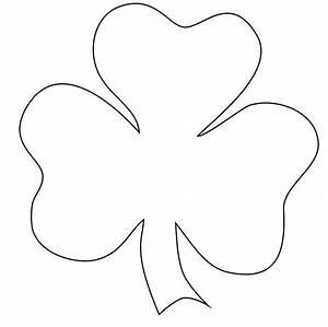 25 best ideas about shamrock clipart on pinterest With shamrock cut out template