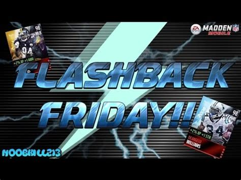 Madden Mobile 16 Flashback Friday!! Brand New Flashback