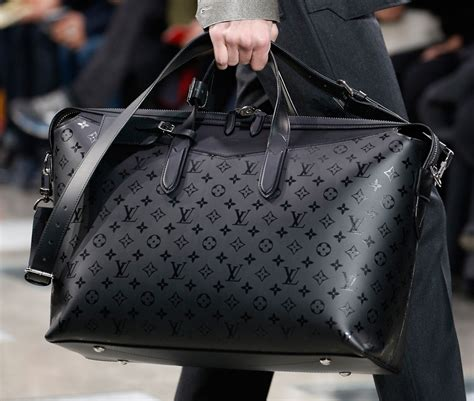 louis vuitton debuts  monogram eclipse print  mens