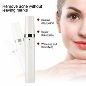 Blue Light Acne Treatment Pen Blue Red Yellow Light Therapy Acne Wrinkle Removal Pen