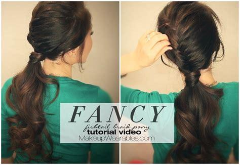 Half-braided, Fancy Ponytail Tutorial