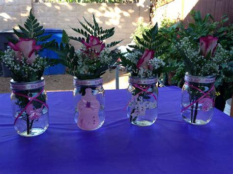 Mason Jar Baby Shower Decorations by Baby Shower Mason Jar Decor Baby Kensley Pinterest