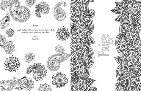 you can get a personalized adult coloring book because