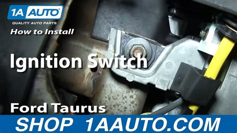 install replace ignition switch   ford taurus
