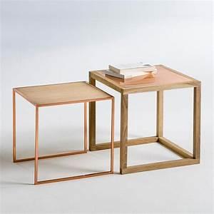 Tables Basses Gigognes Elori La Redoute Interieurs Table