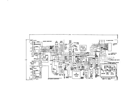 diagram kenmore refrigerator wiring diagram