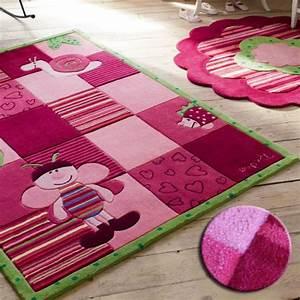 tapis enfant bee rose de esprit home grandes tailles With tapis enfant grande taille
